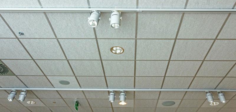 Faux plafond pour bureaux d entreprise prestapose - Faux plafond decoratif ...